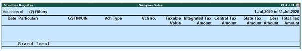 GSTR-3B Reports to File GST Returns in Tally.Erp9